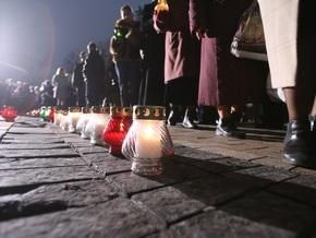 Украина почтила память жертв Голодомора минутой молчания