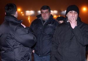 ПР: Грузины, прибывшие в Украину, получили журналистские удостоверения