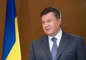 Янукович поздравил участников кинофестиваля Молодость