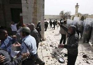 Беспорядки на Храмовой горе в Иерусалиме: В столкновениях  пострадали около ста человек