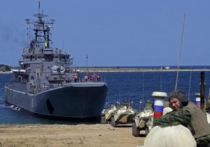 Украина и Россия проведут совместные военные учения в Черном море