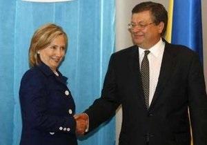 Грищенко и Клинтон договорились об активизации политического диалога