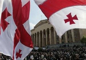 В Тбилиси поставили памятник героям, павшим в борьбе с Россией