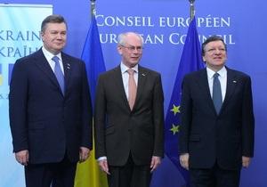 Янукович - саммит Украина-ЕС - Украина-ЕС - Янукович заявил, что доволен результатами саммита Украина-ЕС