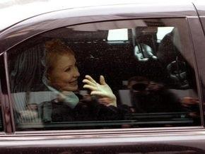 Тимошенко улетела в Брюссель