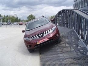 Открытие первого в Украине тестового трека для внедорожников NISSAN в «ВиДи Санрайз Моторз».