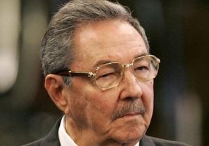 Рауль Кастро посетил пострадавшие от урагана Сэнди регионы Кубы