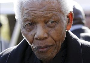 У Нельсона Манделы обнаружили рецидив легочной инфекции