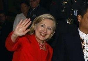 Вашингтон пока официально не подтвердил визит Хиллари Клинтон в Украину