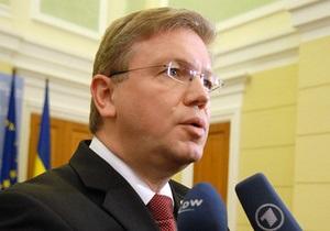 Фюле выразил поддержку Тимошенко