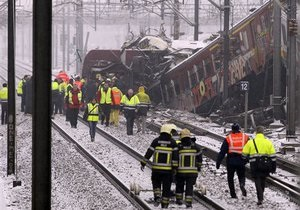 Бельгийские машинисты после столкновения поездов объявили забастовку