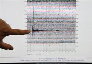 У берегов Крыма произошло землетрясение