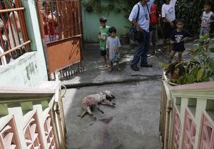 Филиппинец устроил бойню после разрыва с женой: девять убитых, 11 раненых