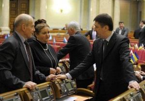 Оппозиция покинула зал заседаний Рады