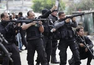 В Рио-де-Жанейро полиция заняла одну из крупнейших фавел