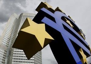 Инфляция в еврозоне упала до трехлетнего минимума