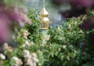НГ: В Киеве цветут каштаны