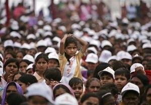 Индия обгонит Китай по численности населения к 2050 году