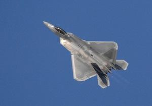 В США пропал с экранов радаров истребитель пятого поколения F-22