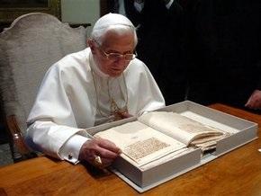Папа Римский стал пользователем социальной сети