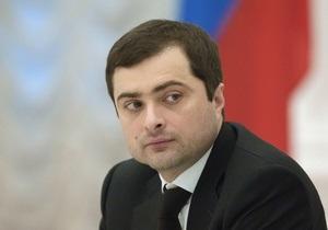 Путин - Кремль - Путин освободил от должности вице-премьера Владислава Суркова