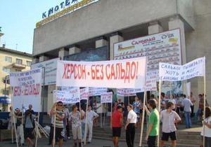 Выборы на Херсонщине: кандидатов ПР поддерживает местная власть