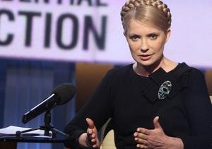Тимошенко гарантирует, что будет укреплять свободу слова в Украине