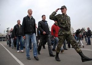 Осенью украинскую армию пополнят свыше 12 тысяч человек