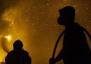 Киевские пожарные спасли бомжа