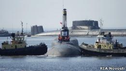 В России успешно прошел залповый пуск двух ракет Булава