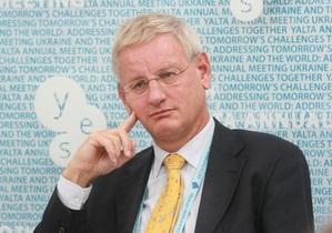 Взаимоотношения Украины и Евросоюза зашли в тупик - глава МИД Швеции