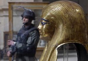 Египетская полиция допрашивает подозреваемых в беспрецедентной краже из Каирского музея