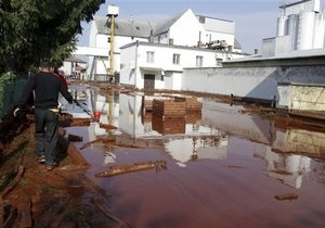 Токсичные отходы из Венгрии могут достичь украинской акватории уже послезавтра