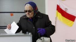 На выборах в Южной Осетии лидирует глава местного МЧС