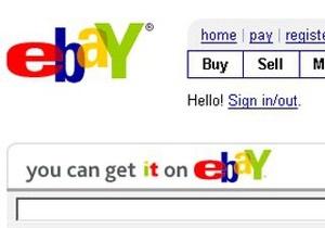 Новости eBay - eBay выступил против внедрения налога на интернет-продажи