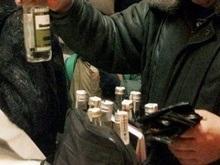 В Черновцах нашли 30 тысяч бутылок фальсифицированной водки