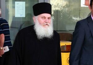 Афонский игумен, привозивший в Россию пояс Богородицы, помещен в тюрьму. Москва обеспокоена