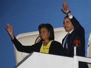 Обама прилетел в Лондон для участия в саммите G20