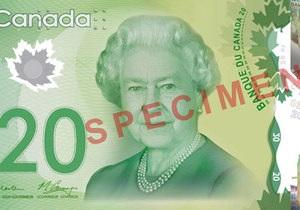 В Канаде появились пластиковые купюры