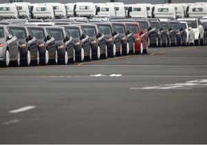 Украина сократила производство авто на треть