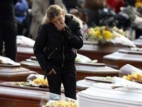 Землетрясение в Италии: число жертв достигло 292 человек