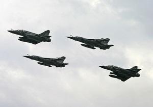 Во Франции разбился истребитель Mirage
