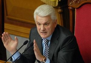 Литвин: Закон о языках не может быть направлен на подпись Януковичу
