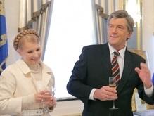 Ющенко летит в Казахстан, а Тимошенко - в Бельгию