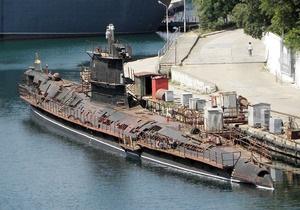 На единственной украинской подводной лодке установят аккумуляторную батарею