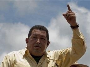 Чавес пригрозил Колумбии разрывом дипотношений