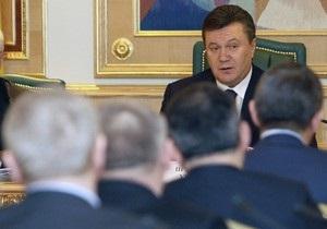 Янукович назначил новых глав в 14 областях Украины