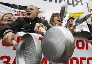 По Украине прокатилась волна протестов предпринимателей