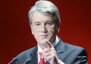 Ющенко удивлен празднованием Дня победы с красными флагами: Моя нация понесла больше всего жертв