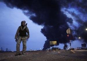 Самолеты НАТО уничтожили в Ливии два танка и склады с боеприпасами